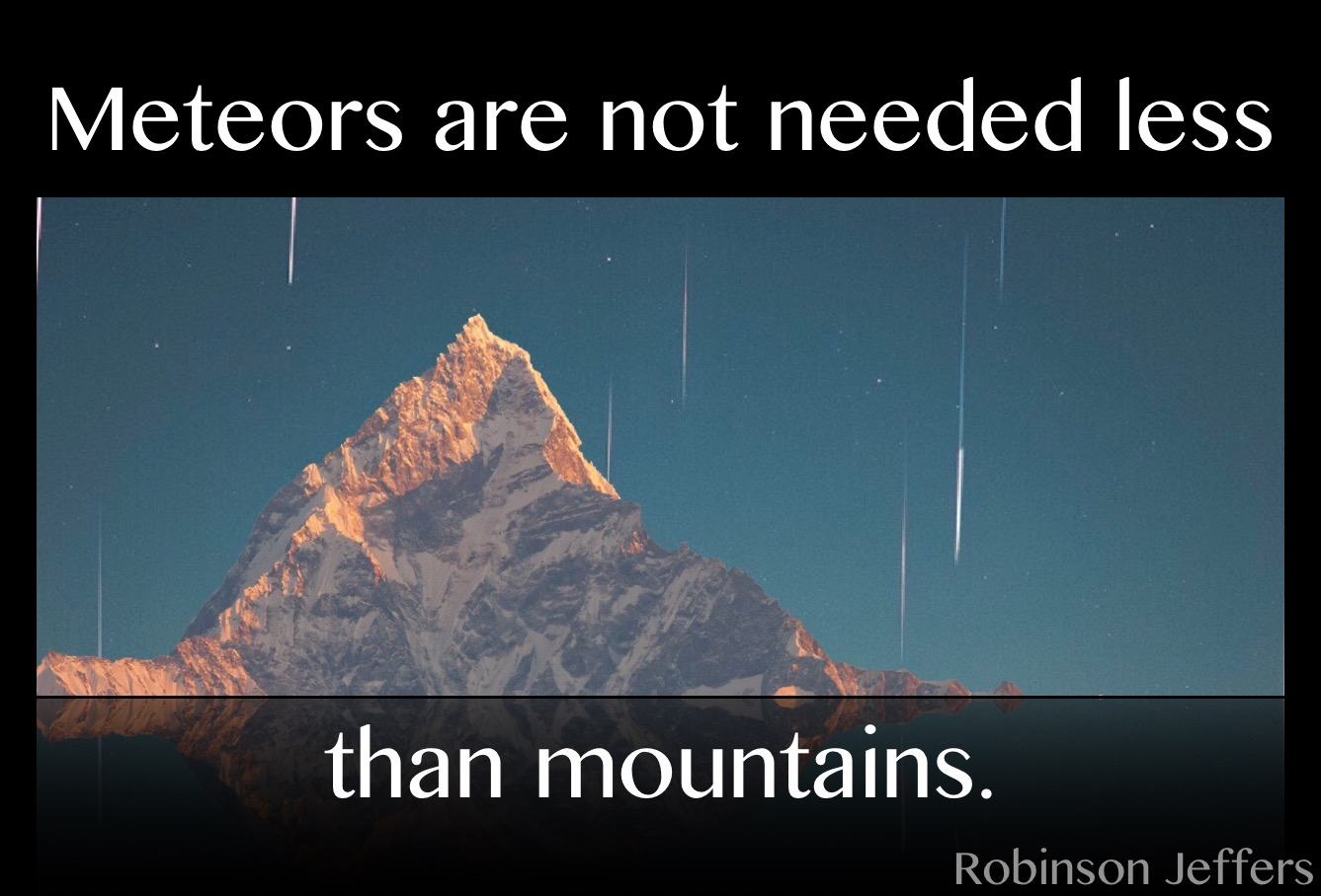 Robinson Jeffers quote