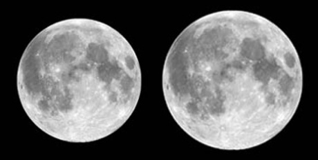 The Moon at Apogee and Perigee