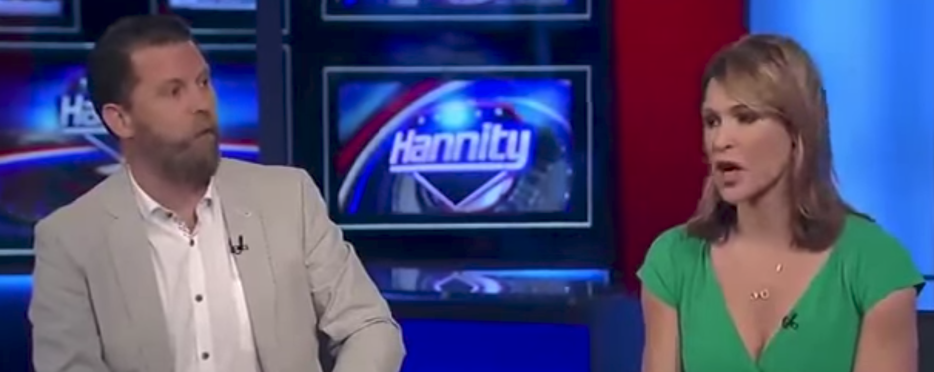 McInnes on Hannity with feminist
